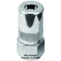 "Hex Grease Coupler, 1/8"" NPT"
