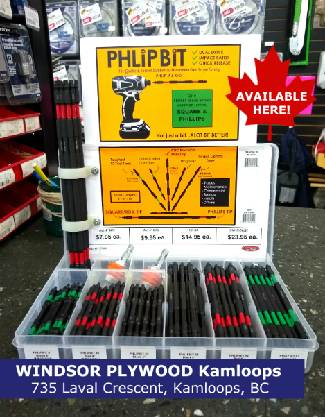 PHLiPBiT Windsor Plywood Kamloops